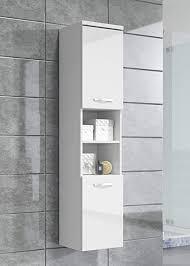 badplaats bv badezimmer schrank paso 160 cm hochglanz weiß fronten regal schrank hochschrank schrank möbel