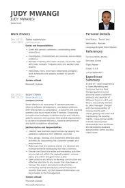 Sales Supervisor Resume Example