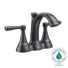 American Standard Colony Bathroom Faucet by American Standard Kempton 4 In Centerset 2 Handle Bathroom Faucet