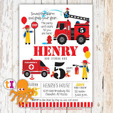 Fire Engine, Fire Truck, Birthday, Party, Invitation, For Kids ... Fire Truck Firefighter Birthday Party Invitation Cards Invitations Firetruck Themed With Free Printables How To Nest Book Theme Birthday Invitation Printable Party Invite Truck And Dalataian 25 Incredible Pattern In Excess Of Free Printable Image Collections 48ct Flaming Diecut Foldover By Creative Nico Lala