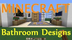 Minecraft Modern Bathroom Ideas by Bright Design 11 Minecraft Bathroom Designs Home Design Ideas