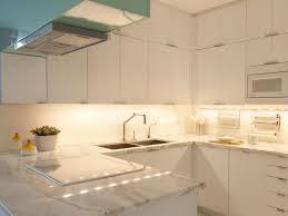 kitchen above cabinet lighting counter lighting