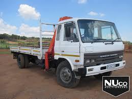 100 Nissan Diesel Truck NISSAN DIESEL DROPSIDE CRANE TRUCK Nuco Auctioneers