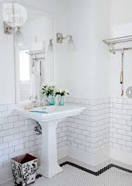 vintage white bathroom tiles ideas
