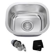 Undermount Bar Sink Black by Stainless Steel Kitchen Sinks Kraususa Com