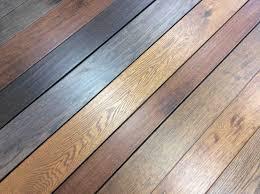 Antique Grey Distressed Wood Flooring Engineered Enhances This Kitchen