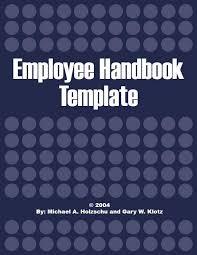 Handbook Template Word Free