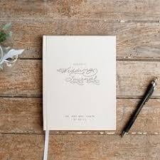 Wedding Planner Book Journal Personalized Custom Bridal Shower Guest Rustic Keepsake
