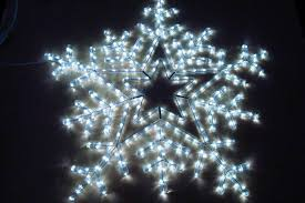 LED Snowflake Lights Outdoor Ideas Furniture Decor Trend Home