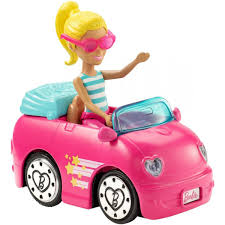 Barbie On The Go Mini Vehicle Doll Asst