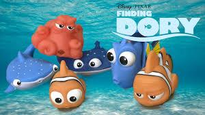 Finding Nemo Bath Set finding dory bath squirters dory marlin destiny hank nemo mr ray