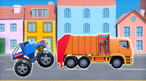 Binkie TV - Funny Truck Race Garbage Truck For Kids Car Chase - YouTube