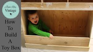 how to build a toy box jami ray vintage youtube