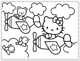 Image Of Hello Kitty Coloring Pages Kids