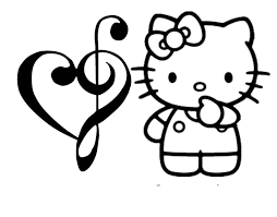 Hello Kitty Coloring Pages Kids Day