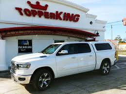 100 Dodge Truck Accessories 2019 White Ram 1500 LEER 100R TopperKING TopperKING