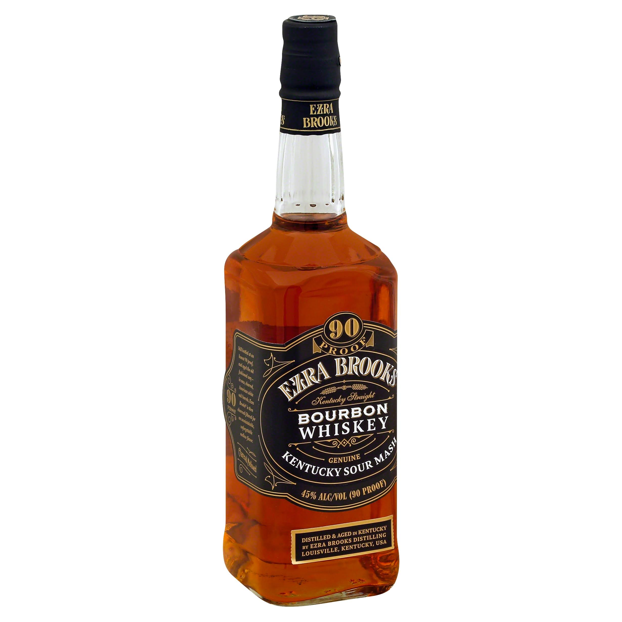 Ezra Brooks Whiskey, Kentucky Straight Bourbon - 750 ml