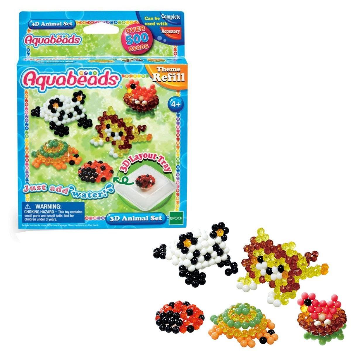 Aquabeads 3D Animal Set
