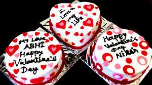 Cake Decoration Ideas With Gems by Simple Cake Decoration Valentine U0027s Day U0026 Anniversary Cake Design