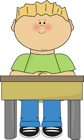 Prime Student At Desk Clipart 95 Classroom Clipart With Student
