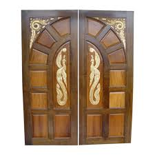 Fancy Main Door Design Photo Using Wooden Materials And Double ... Home Fences Designs Design Ideas Ash Wood Door With Frame Hpd416 Solid Doors Al Habib Latest Wooden Interior Room Fileselwyn College Cambridge Main Gatejpg Wikimedia Commons Front Custom Single With 2 Sidelites Dark 12 Exterior That Make A Statement Hgtv Gate And Fence Metal Gates Automatic For Homes Domestic Woodfenceexpertcom Wrought Iron Cost Decoration Small Astonishing Images Plan 3d House Golesus