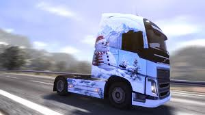 100 Cool Paint Jobs On Trucks Ice Cold DLC ETS2 Mods SCS Mods Euro Truck