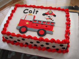 100 Fire Truck Birthday Cake Fighter Sheet Roxi Bakes In 2019