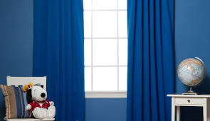 Navy Blue Blackout Curtains Walmart by Curtains Striking Blue Blackout Curtains 66 X 72 Rare Navy Blue