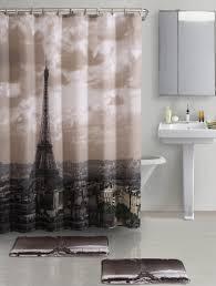 Paris Eiffel Tower Bathroom Decor by Eiffel Tower Shower Curtain Rings Best Curtain 2017