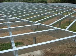 Residential Floor Joist Size by Boxspan Steel Kit Flooring System Sub Floor Piers U0026 Bracing