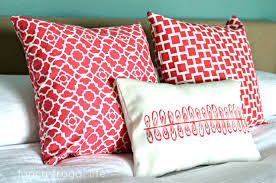 Coral Colored Decorative Accents by Coral Throw Pillows Ripping Accent Birdcages