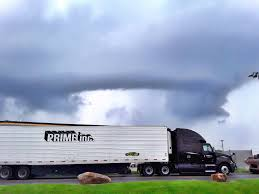 100 Prime Inc Trucking Phone Number In Line For A Washout When A Huge Storm Hit