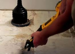 remove ceramic tile from a concrete floor the family handyman