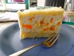 käse sahne torte mit mandarinen