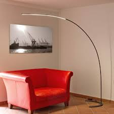 Curved Floor Lamps Uk by Danua Led Arc Floor Lamp In Black Lights Co Uk