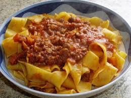 recettes de cuisine italienne pappardelle au sanglier et à la sauce tomate la cuisine italienne
