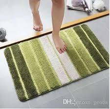 großhandel bad matten polyster badezimmer teppich antirutschmatte für badezimmer ultra weiche matte in der toilette saugfähigen teppich badezimmer