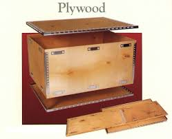 Flat Pack Wooden Crates