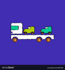 Flat Shading Style Icon Car Carrier Truck Deliver Vector Image 2000 Kenworth W900b Car Carrier Truck For Sale Auction Or Lease Toy Transport For Boys And Girls Age 3 10 Semi Matchbox Large 18 Learn Colors With Car Carrier Truck Coloring Book Super Megatoybrand Hauler Transporter 6 Cars Wvol Military Kids Includes Long 28 Slots Friction Powered 3d Free Download Of Android Version M Trailer With On Bunk Platform Empty Intended To Deliver New Auto Batches Stock