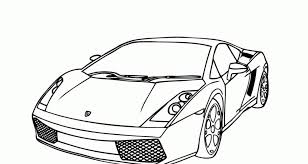 Coloring Pages Lamborghini Cars