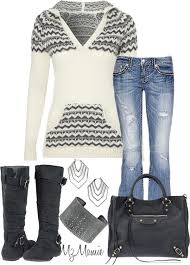 A Fashion Look From December 2012 Featuring Miss Me Jeans Balenciaga Tote Bags And Todd Reed Bracelets