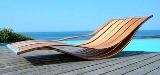 Wood Pool Loungers Wooden Durban Wicker Lounge Chairs With