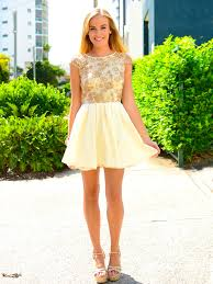 beautiful cream and lace bridesmaid dress idea great heels and