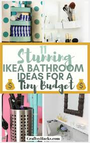 11 Stunning Ikea Bathroom Ideas For A Tiny Budget - Craftsy Hacks 15 Inspiring Bathroom Design Ideas With Ikea Fixer Upper Ikea Firstrate Mirror Vanity Cabinets Wall Kids Home Tour Episode 303 Youtube Super Tiny Small By 5000m Bathroom Finest Photo Gallery Best House Sink Marvelous And Cabinet Height Genius Hacks To Turn Your Into A Palace Huffpost Life Stunning Hemnes White Roomset S Uae Blog Fniture