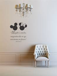 Laughter Is Timeless Imagination Has No Age And Dreams Are Forever Walt Disney Vinyl Wall Art Inspirational Quotes Saying Home Decor Decal Sticker