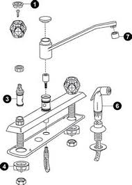 Faucet Aerator Assembly Diagram by Beautiful Moen Single Handle Kitchen Faucet Repair Part 4