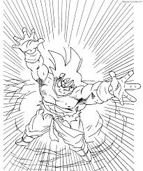 Magen De Goku Para Colorear E Imprimir Imagen Para Colorear