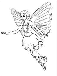 Easy Fairy Coloring Pages