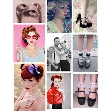 A Fashion Look From November 2013 Featuring Rockabilly Hair Accessories Browse And Shop Related Looks