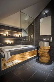 interesting way to turn a tub into a shower as well designing